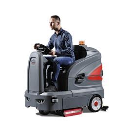 S130小酷卡智慧型驾驶式洗地机  物业用洗地车 大盘刷洗地车 省电式洗地机