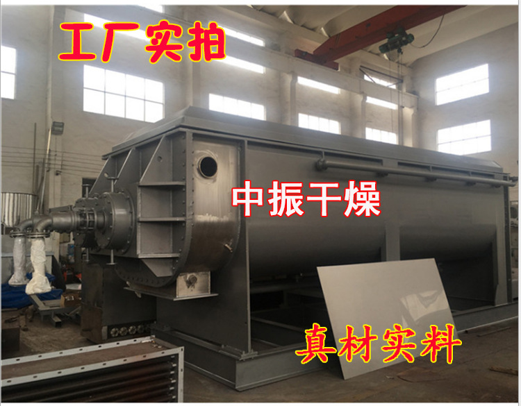空心桨叶干燥机 污泥 染料干燥机 双轴桨叶干燥机示例图23