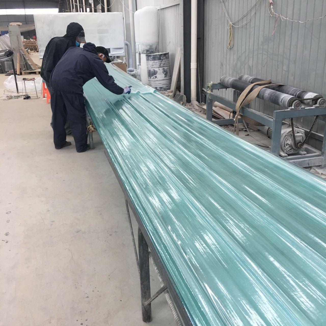 厂房采光板 透明采光板 煤棚840型玻璃钢瓦采光板