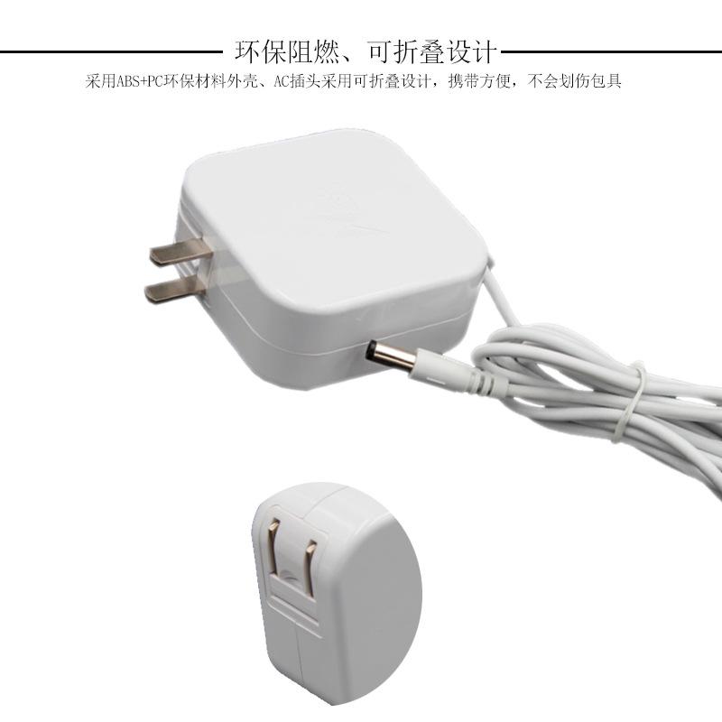 供应12v5a电源适配器 60W过3C认证白色充电器 12V60W插墙式适配器示例图7