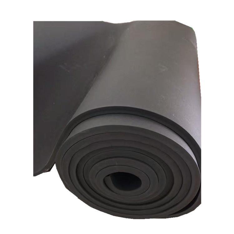 航林 保溫隔熱橡塑板 B2級橡塑板 阻燃橡塑海綿吸音板 背膠橡塑板