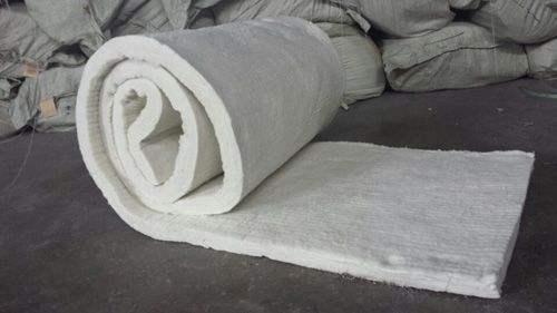 厂家供应优质硅酸铝 含铝保温毯保温棉针刺毯示例图7