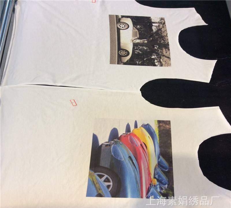 服装家纺织布数码印花加工全棉布数码印热升华转移印花裁片数码印示例图7