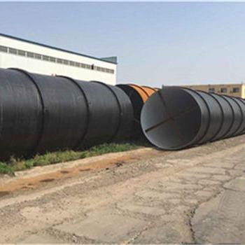 环氧煤沥青防腐钢管 内衬水泥砂浆螺旋钢管现货销售