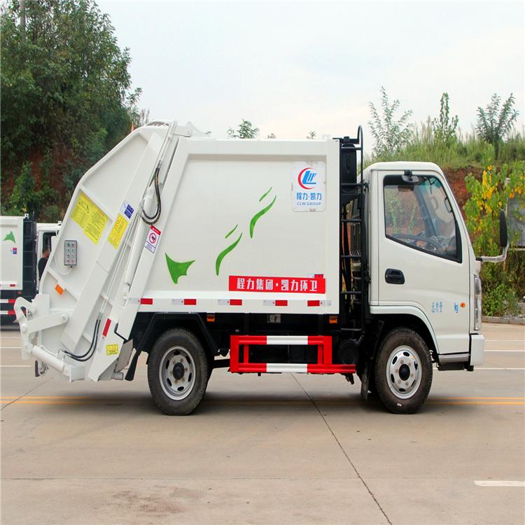 國六5方8方掛桶垃圾車 畢節垃圾壓縮車圖片 環衛垃圾回收車 廠家直銷  可分期購買的垃圾清運車
