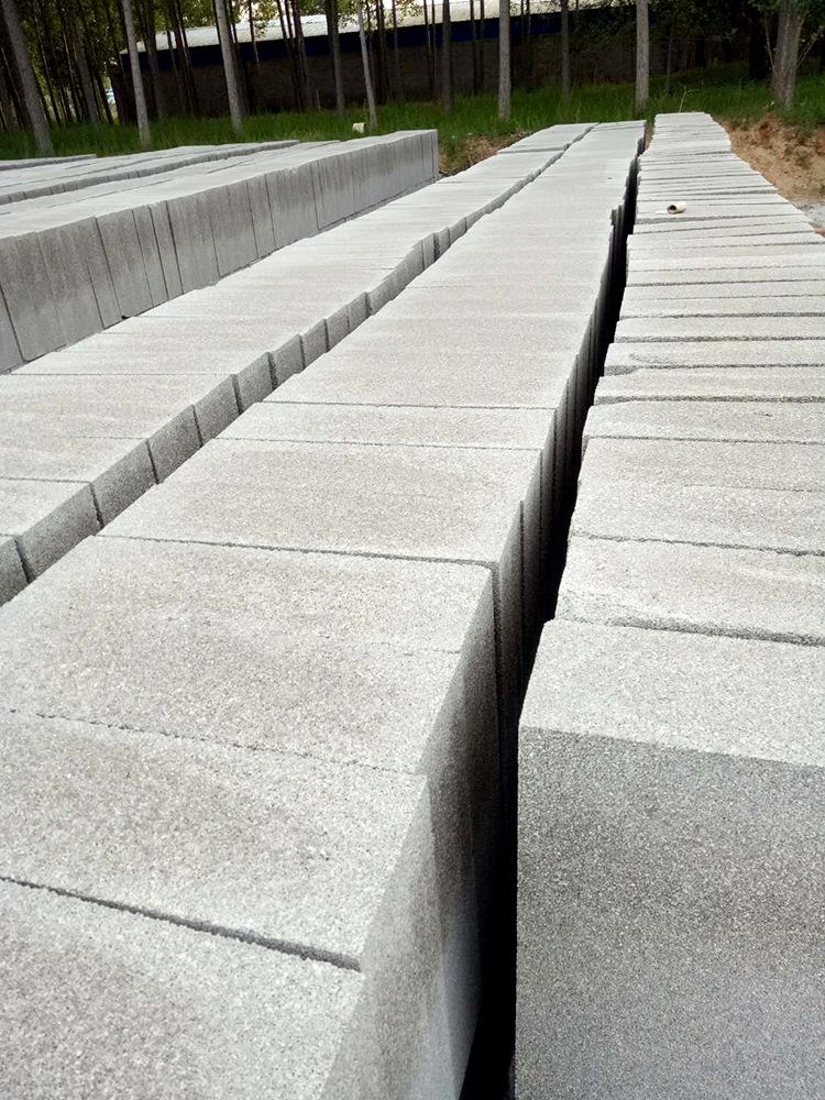 外墙珍珠板憎水珍珠岩保温板 A1级防火板 防火隔离带 玻化微珠板示例图10