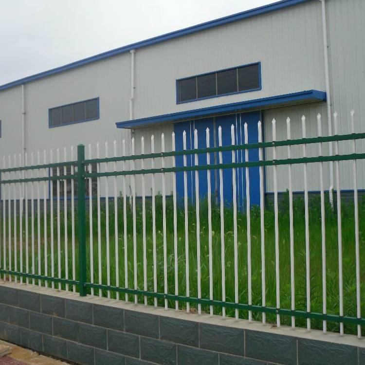 锌钢围栏 锌钢护栏柱黑色 锌钢楼梯栏杆 云旭 厂家