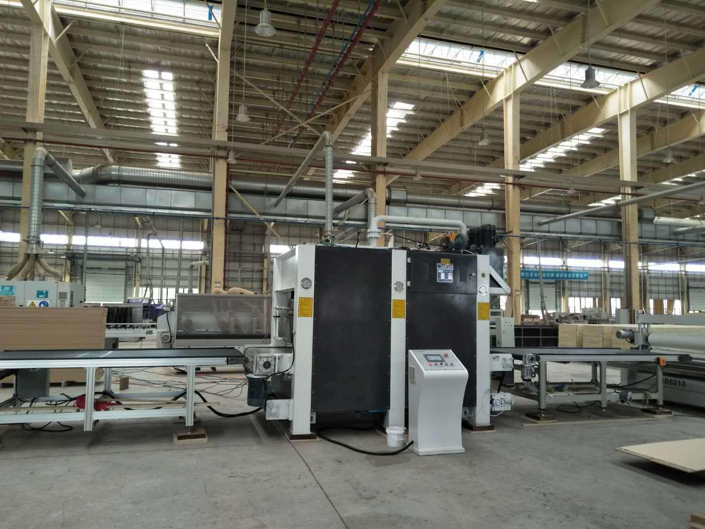 亨力特160噸木門短周期復合熱壓機自動輸送線,熱壓機尺寸非標可以定制示例圖4
