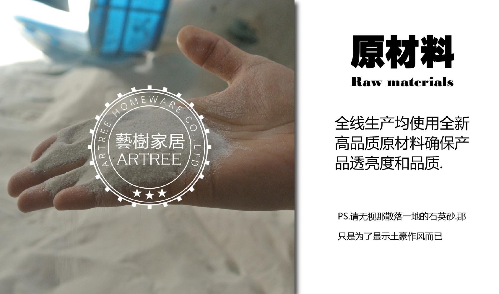 好�9i�9�)���_【Artree艺树人工蓝色电镀放射条纹玻璃盘子批发定制】价格_批发
