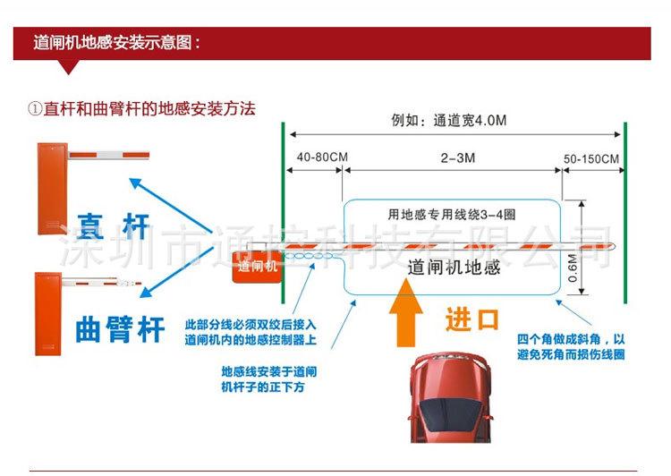 PD132 车辆检测器 地感车辆检测器 专业厂家供应车辆检测仪示例图7