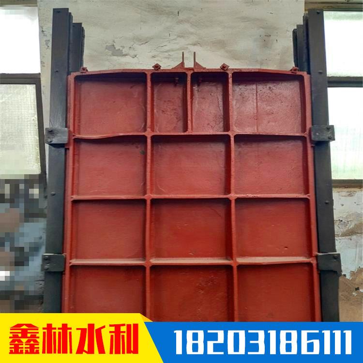 平板鑄鐵閘門 單止水鑄鐵閘門 鑫林 雙向止水 廠家現貨