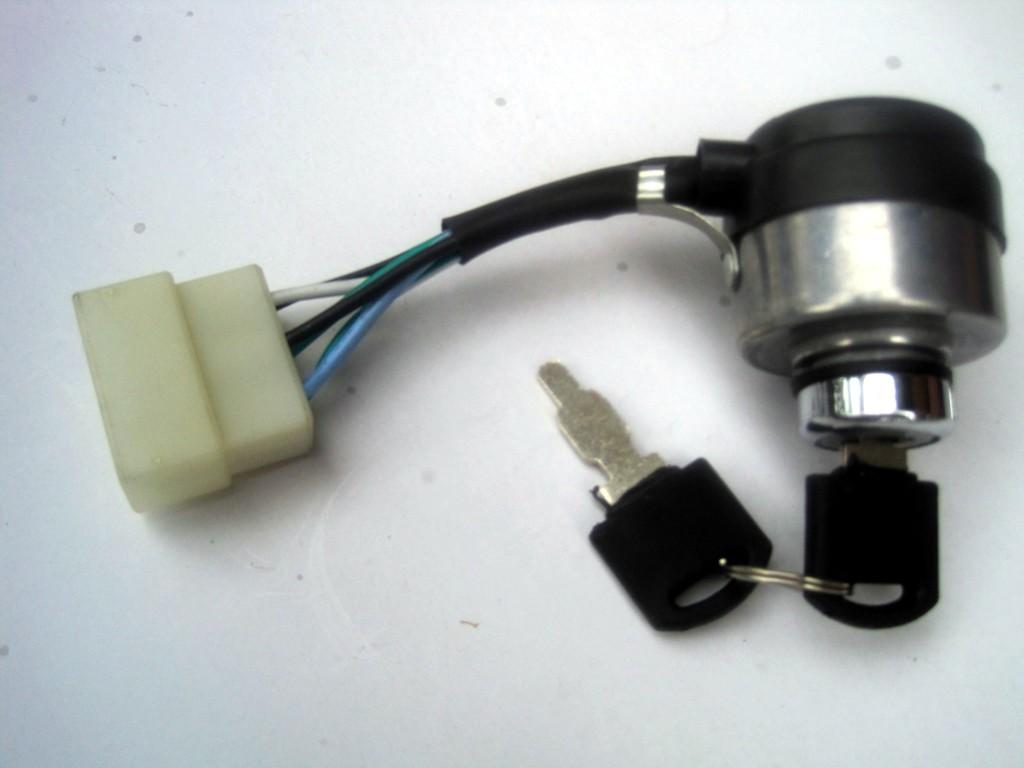 直銷168汽油發電機配件GX390啟動開關電源鎖電門鎖