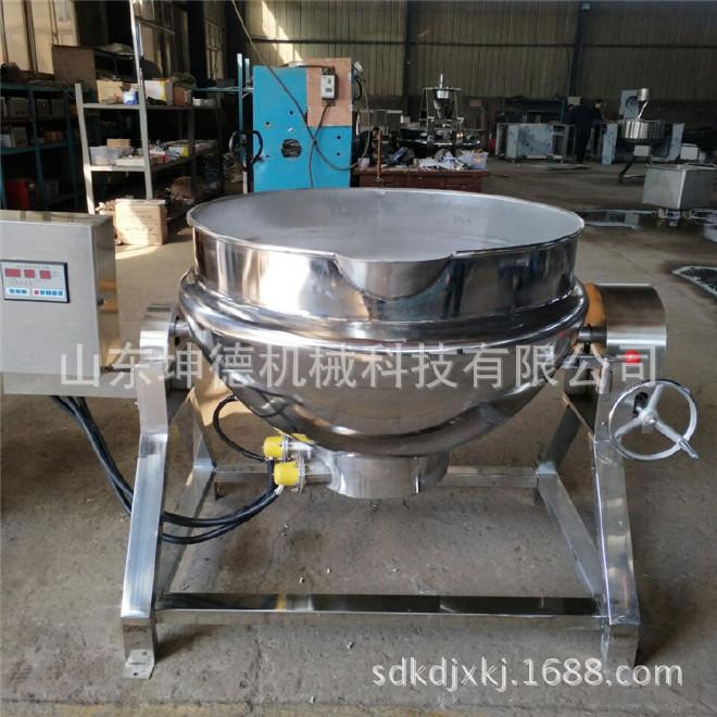 鹵牛肉加工機器 大型醬豬蹄鹵煮鍋 燒雞煮鍋廠家直銷圖片