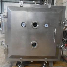 FZG方形真空干燥机 烘干箱 蒸汽加热圆形真空干燥箱 医药烘干设备