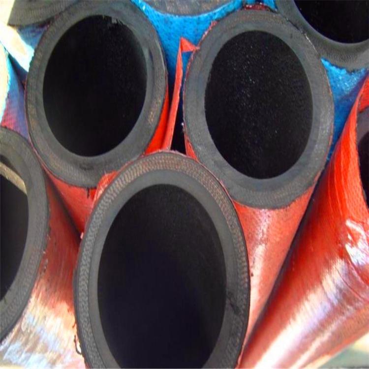 加工定制水泥車卸料專用管 32mm橡膠耐磨噴砂管 高壓耐磨噴砂管 鋼編噴漿管批發