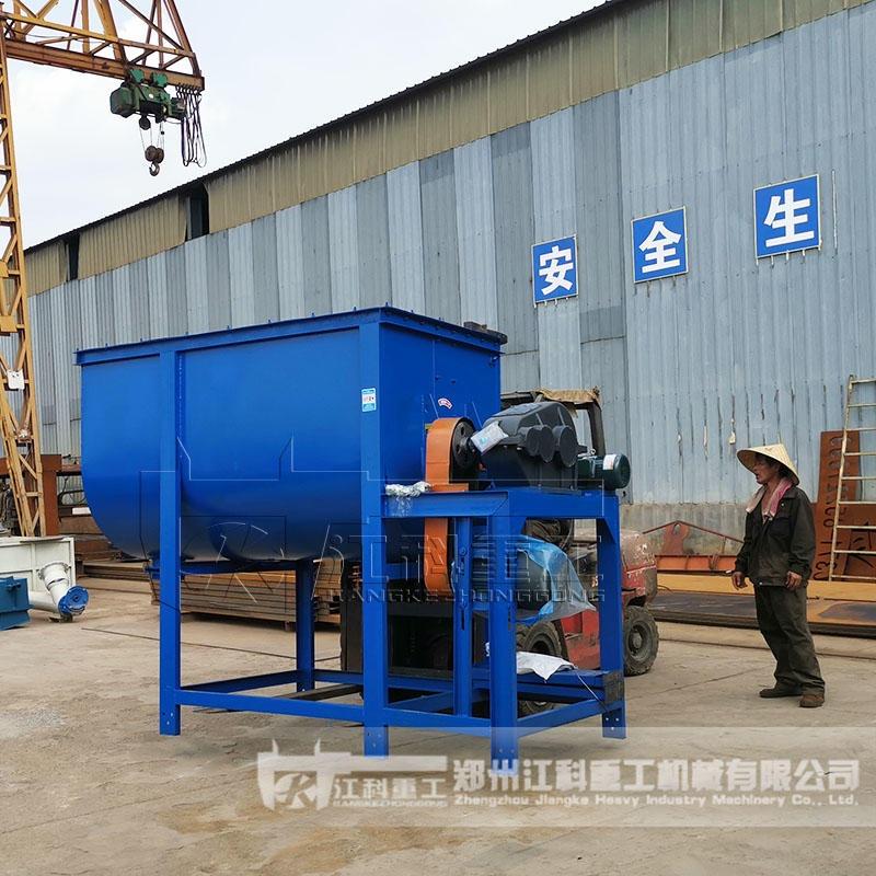郑州江科重工 道路标线涂料生产设备 腻子粉搅拌机  U型(ZQ/XWD)道路标线涂料搅拌机