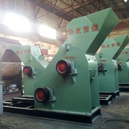 華北重型 現貨煤矸石破碎機 小型頁巖粉碎機 爐渣粉碎機 煤炭破碎生產線