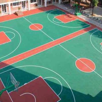硅PU球場材料 硅PU球場材料 硅PU彈性層 硅PU籃球場 硅PU網球場 硅PU羽毛球場 硅PU球場性能