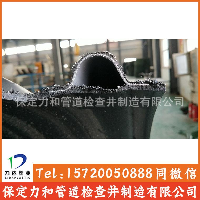 HDPE钢带增强波纹管 双壁波纹管 雨污水管网专用示例图6