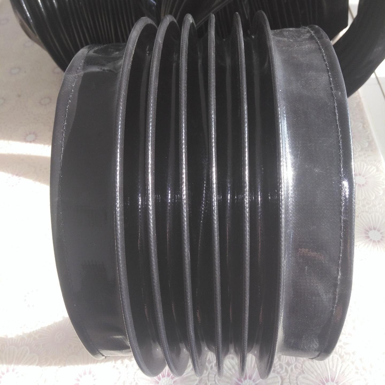 滄一加工液壓油缸防塵罩縫合帶拉鏈式圓形防護套絲杠防護罩