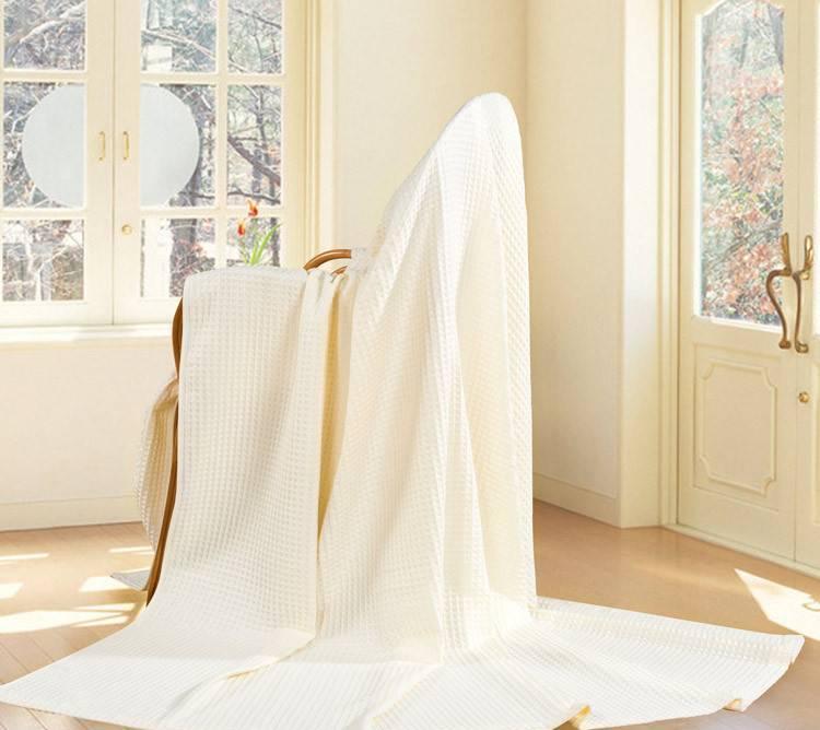 艺特佳家纺冰淇淋纹双人单人加厚全棉毛巾毯空调毯夏被毛毯特价示例图37
