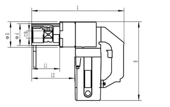 供应电动扳手 电动螺栓拧紧扳手 电动扭矩扳手 可调扭矩电动扳手示例图5