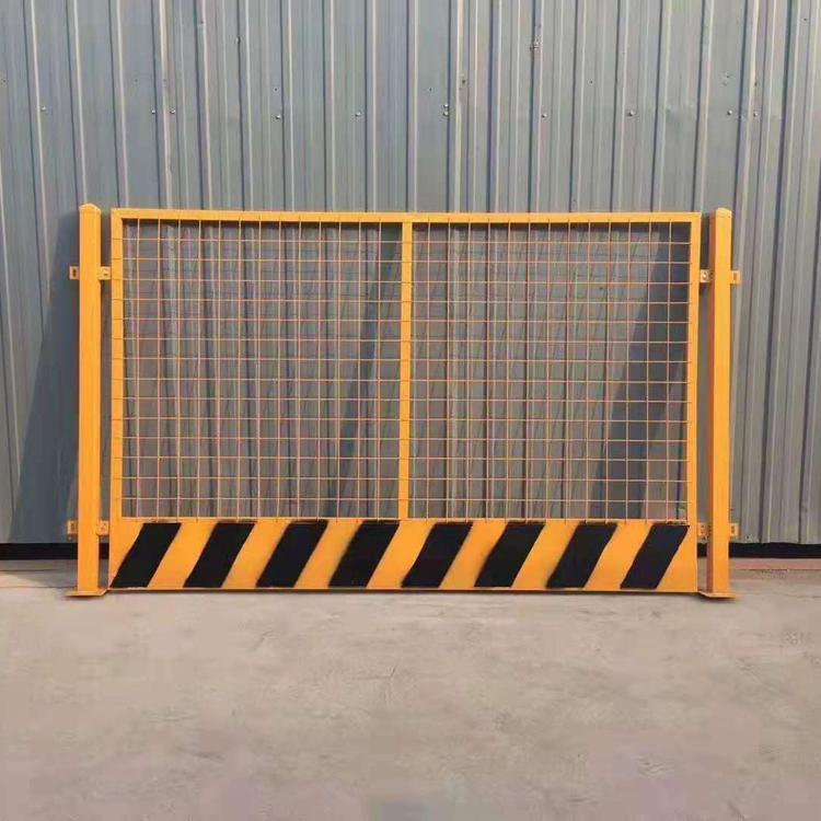 实力厂家定型化基坑护栏 临边警示围栏 喷塑隔离基坑防护栏 云旭 源头厂家