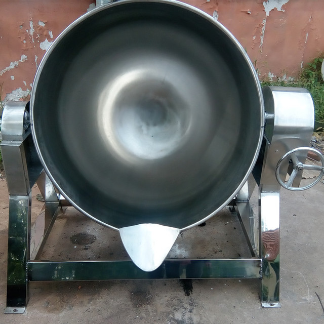 多功能夾層鍋,炒菜炒雞蛋帶攪拌電加熱夾層鍋      炒肉夾層鍋