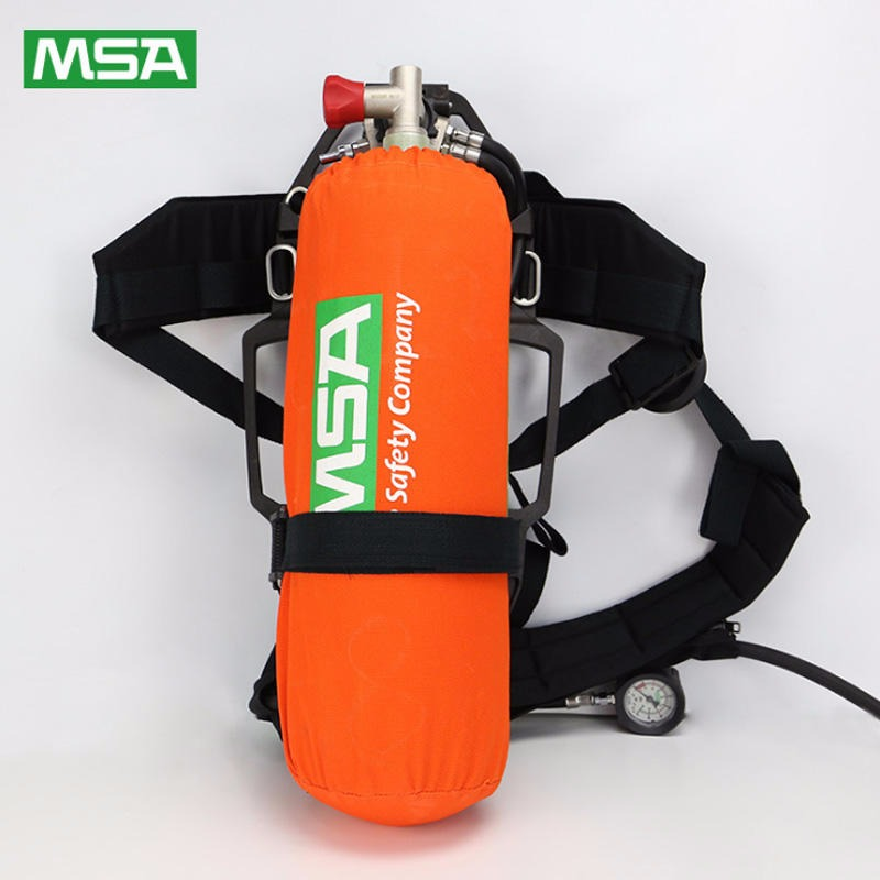 梅思安自给式呼吸器  AX2100逃生呼吸器  带报警哨可通讯呼吸器