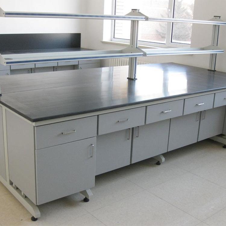 赛思斯 S-SG1成都市钢木实验台 转角台 学生操作台 教师讲台物理化学微生物高校大学教育