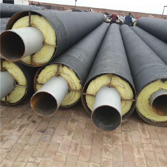 工厂定制 防腐钢管 钢套钢防腐钢管 加工 环氧煤沥青防腐钢管示例图5