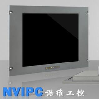 北京诺维工控厂家直销2019款19寸单点电阻触摸工业显示器 NPM-5190GST机柜式显示器 三防显示器 医疗显示器