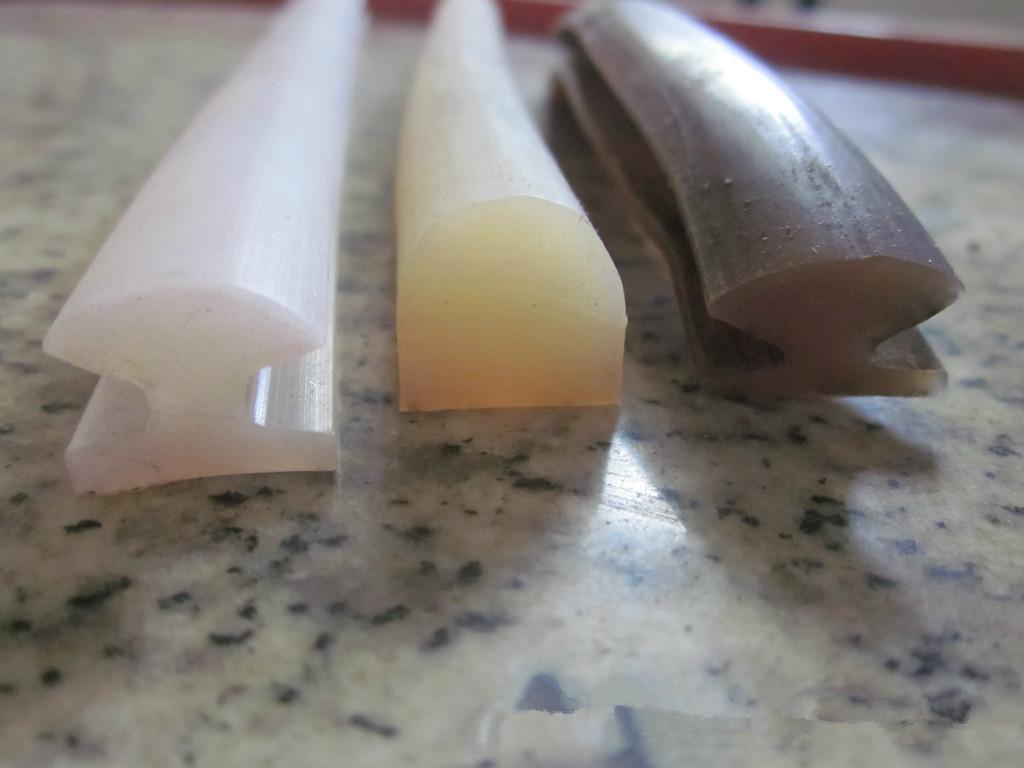 工业硅胶发泡异形条门窗机械耐高温密封条示例图9