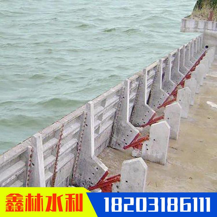 液壓壩攔河壩 景觀鋼壩閘門 液壓景觀壩鑄造 鑫林 包郵上門