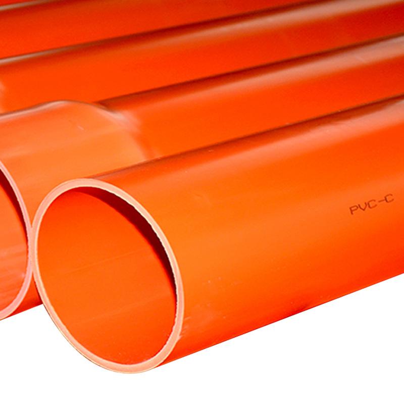 厂家直销pvc电力管 cpvc穿线管 mpp拖拉过道管各种电力管道示例图4