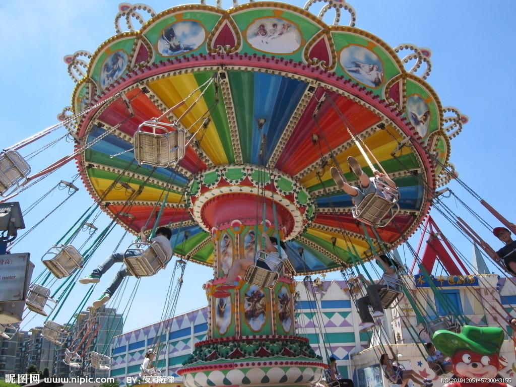 新品上市大型游乐设备飓风飞椅 郑州大洋升降摇头24座豪华飞椅示例图10
