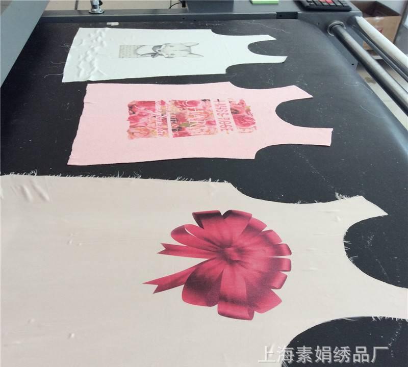 服装家纺织布数码印花加工全棉布数码印热升华转移印花裁片数码印示例图4