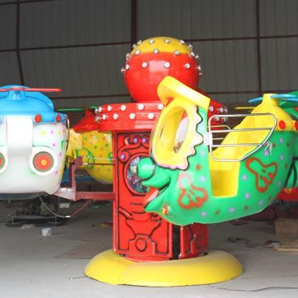 室内小型游乐设备儿童大眼飞机 郑州大洋大眼飞机公园游乐项目