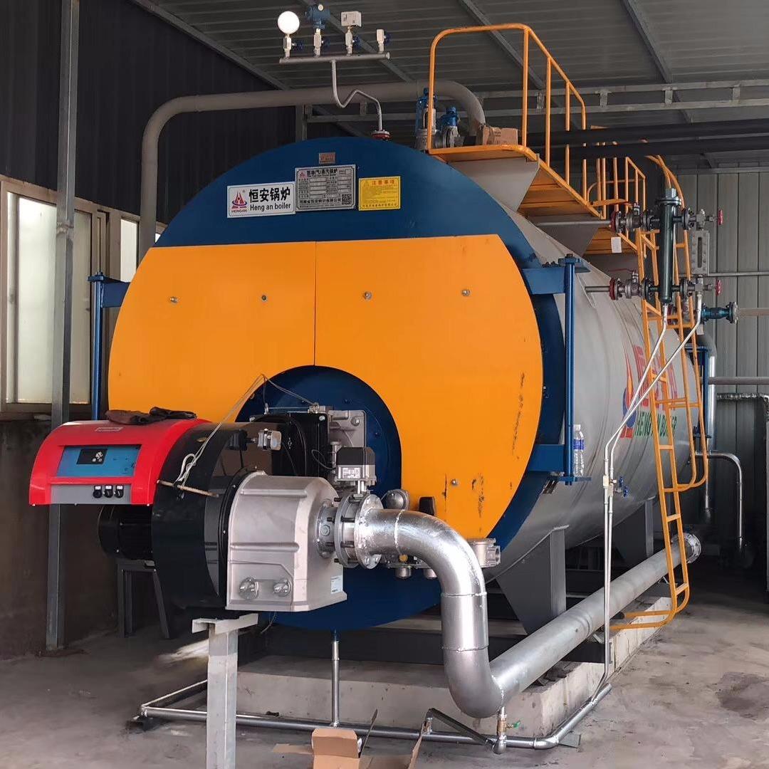 恒安鍋爐供應2噸蒸汽鍋爐 蒸發量2噸燃氣蒸汽鍋爐 WNS2-1.25-Y(Q)