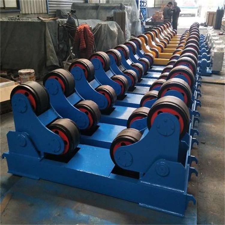 可调式滚轮架江苏厂家直销2015款100吨自调式滚轮架示例图6