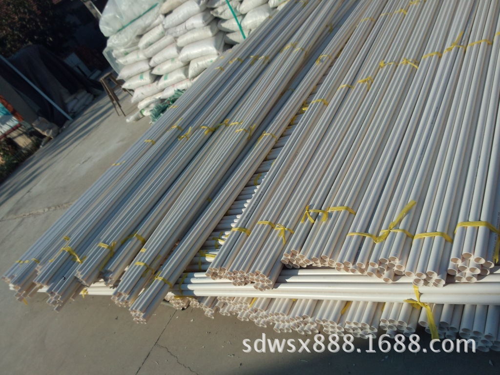 供应PVC大棚管   40mm蔬菜大棚PVC硬管厂家直销 专业定制示例图22