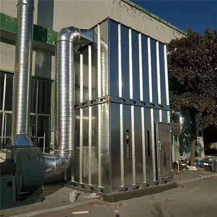 廠家定制中央除塵設備家具木工除塵器環保除塵設備 脈沖布袋式除塵器