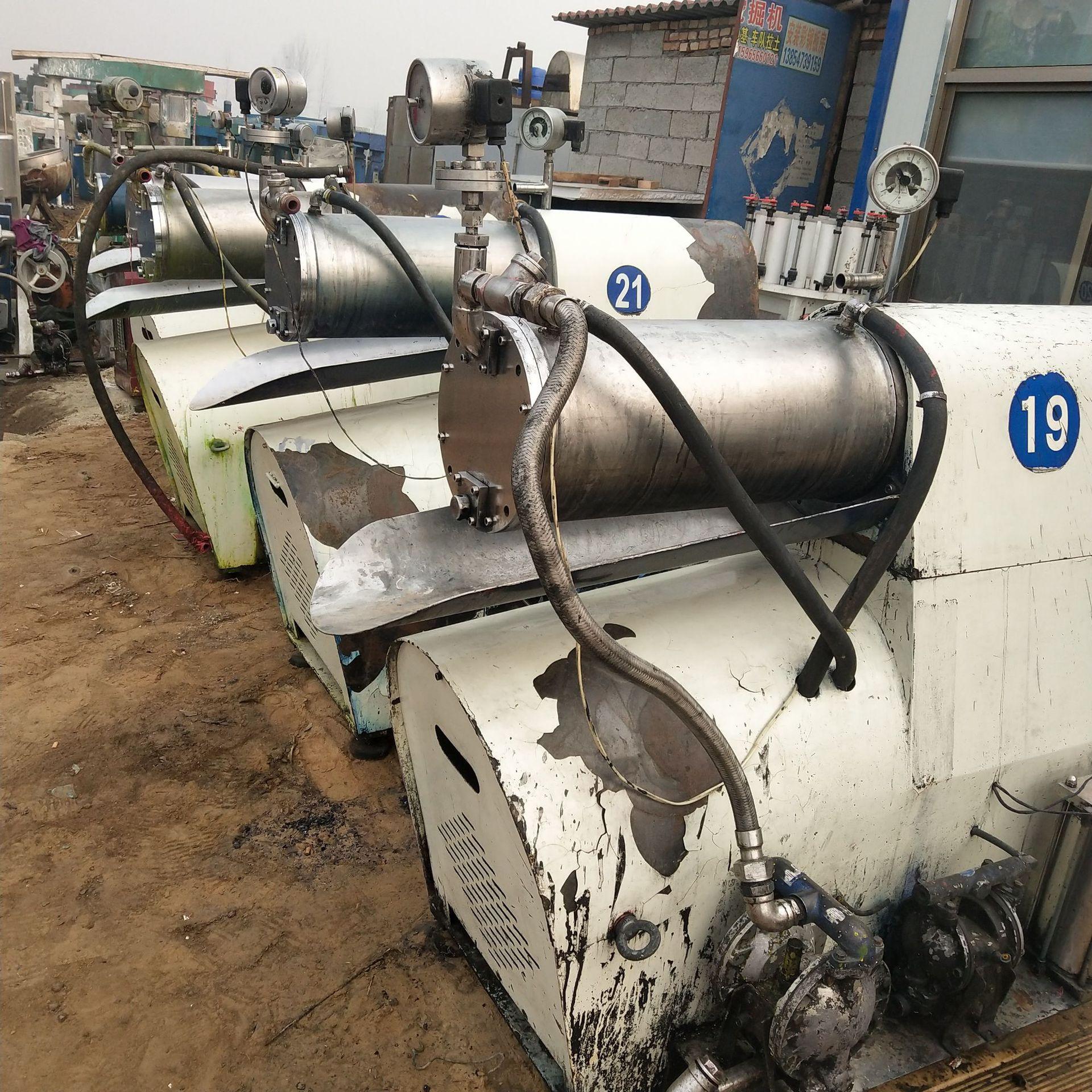 出售二手30升砂磨机 二手22千瓦分散机 二手三滚研磨机示例图7