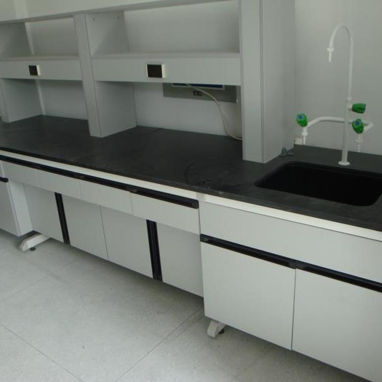 赛思斯 S-SG1重庆市钢木实验台 化验室家具 理化板实验边台承重性能好非标定制供应商