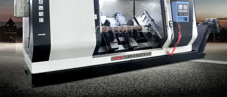 斜式銑打機XS160-2000斜床身多功能銑端面打中心孔機床示例圖2