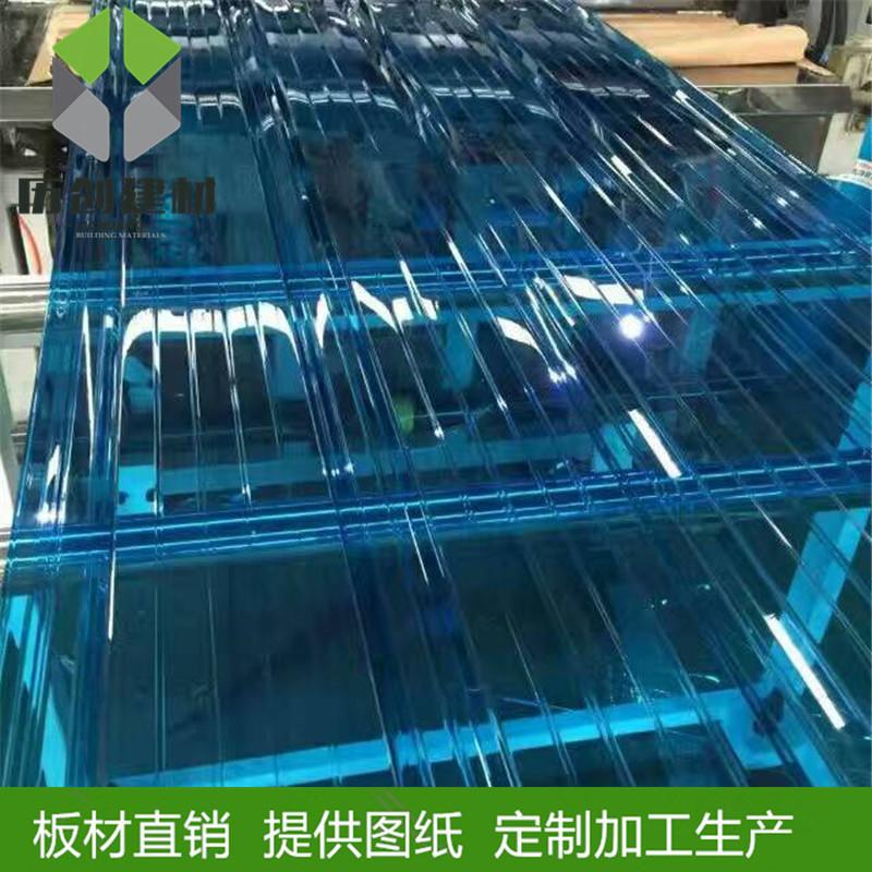 广州花都厂家pc波浪瓦pc840透明色温室大棚可现场施定制厂家热销示例图13