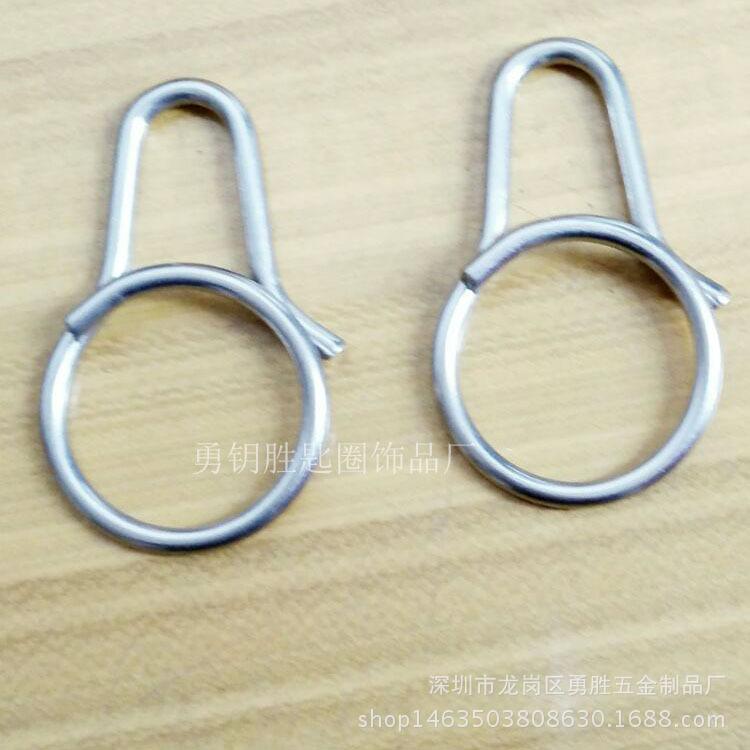 一體快拆式鑰匙扣 創意鈦合金匙圈掛件 原創設計男女鑰匙環示例圖8