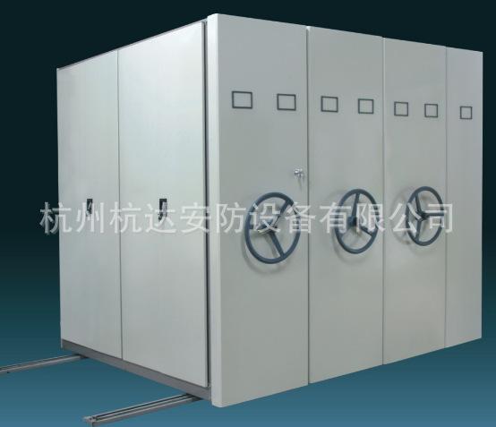 杭州厂家定做 新款轨道密集架档案柜豪华密集架系列示例图2