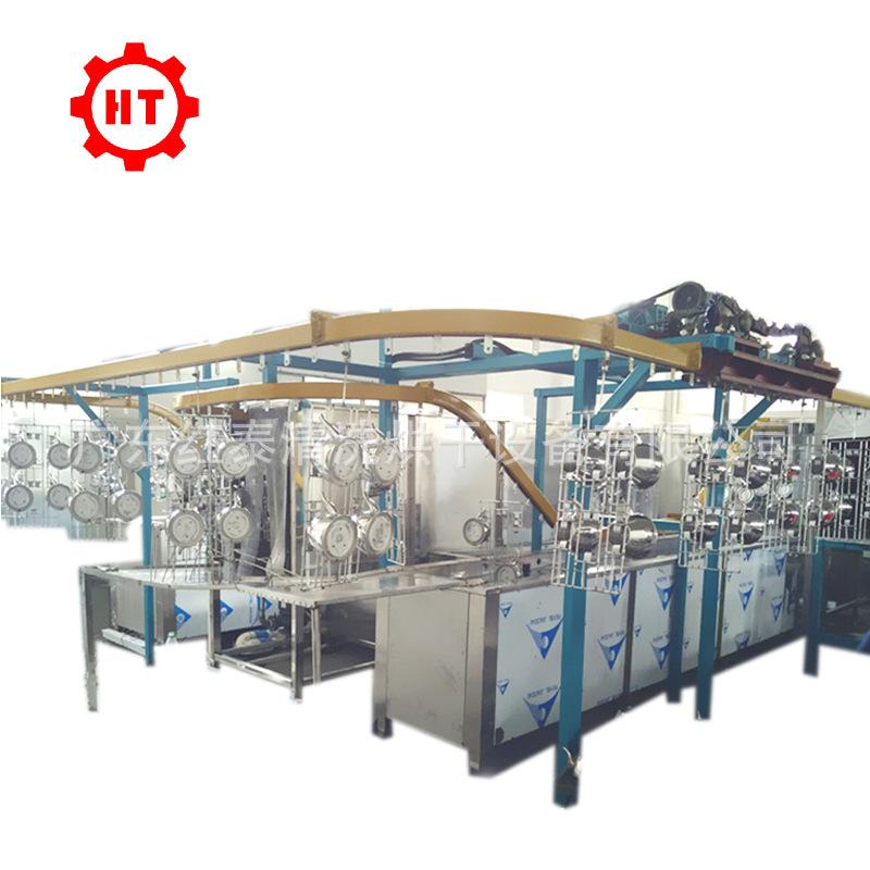 不锈钢管 铁管 铝管超声波清洗机 PLC控制 全自动龙门式机械臂示例图5
