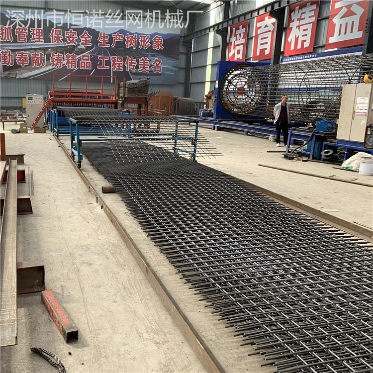 3米宽大型网片焊网机    桥梁建筑网焊网机   大型焊网机自动翻丝功能